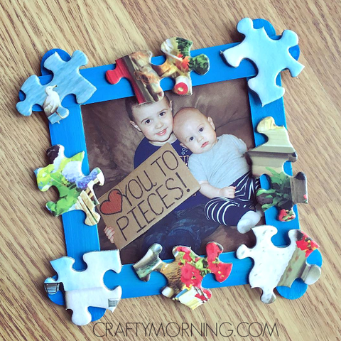 father's day crafts preschool crafty morning love you to pieces father's day frame