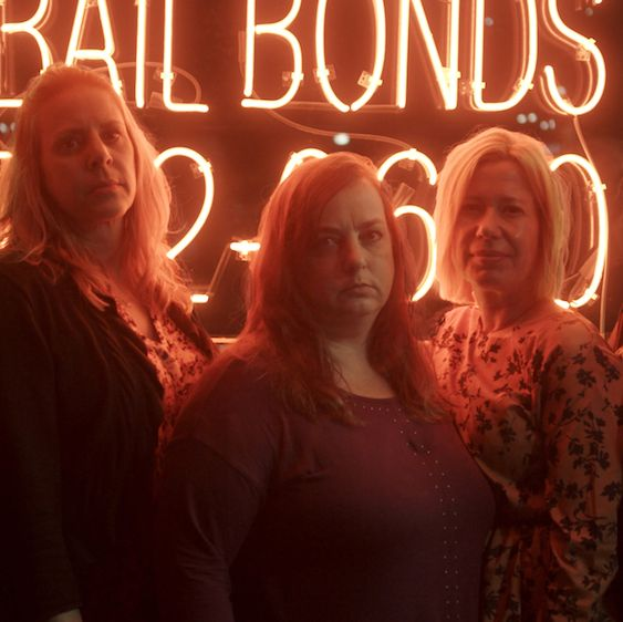 l r ellen, sandi, tracy, sabrina and carla from love fraud  photo credit courtesy of showtime