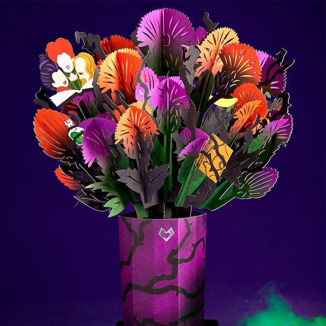 lovepop disney hocus pocus spellbinding halloween bouquet