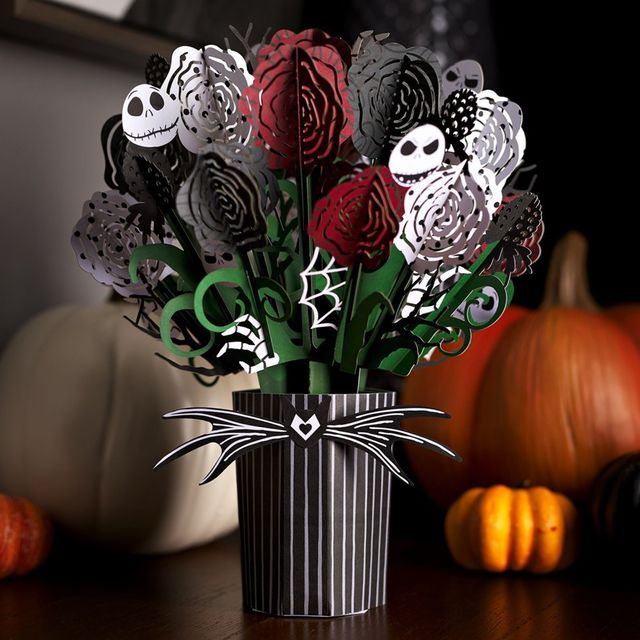 lovepop 'the nightmare before christmas' seriously spooky bouquet