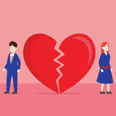 Lover a broken heart