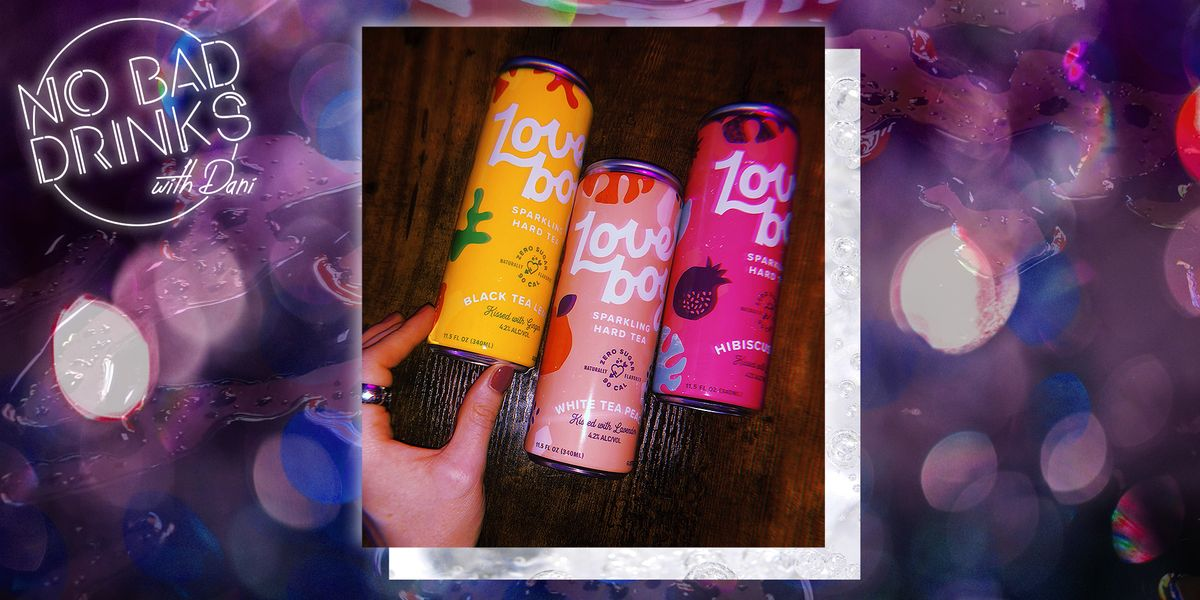 Loverboy Sparkling Hard Tea Will Be Your New Favorite Drink in a Can