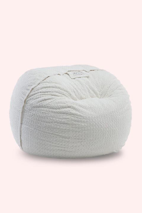 Bean bag chair, Wool, Textile, Furniture, Thread,