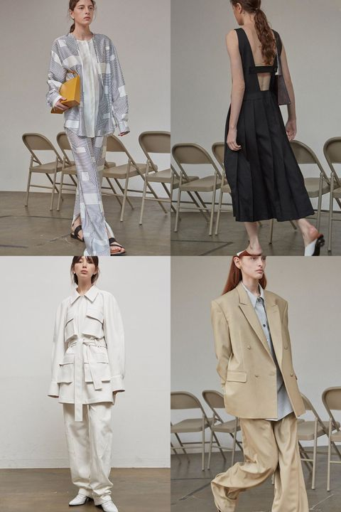 Clothing, White, Fashion, Fashion model, Fashion design, Outerwear, Khaki, Street fashion, Shoulder, Footwear,
