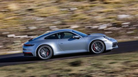 Porsche 911 992 Carrera 4S first drive review