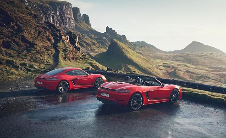 Porsche 718 Boxster and Cayman T – Lightweight Mid-Engine Sports Cars