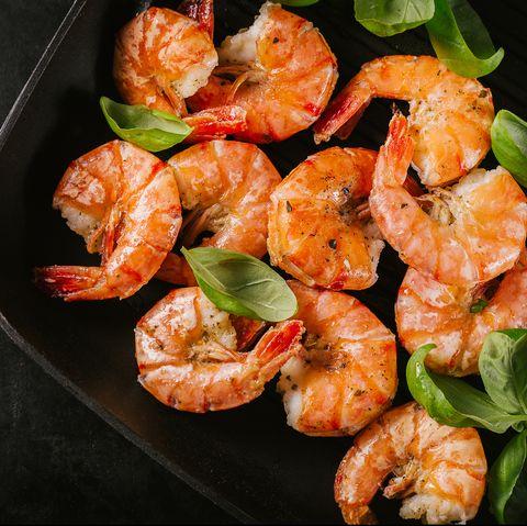 low calorie snacks - shrimp