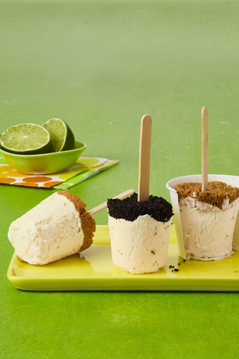 low-carb desserts Key Lime Ice Pops