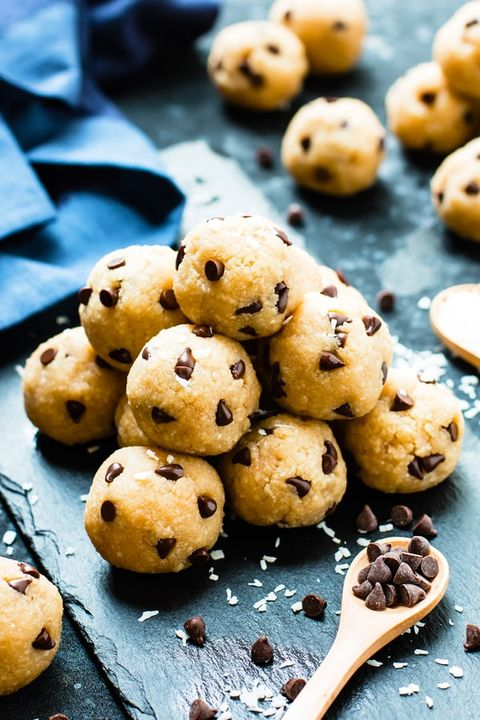 low-carb desserts Chocolate Chip Cookie Dough Bites