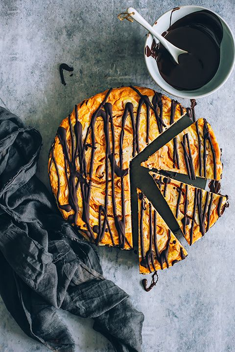 Low-Carb desserts Pumpkin Cheesecake