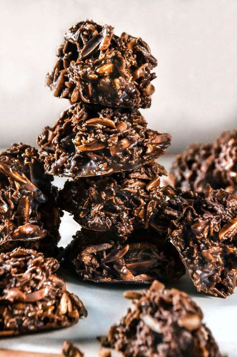 Low-Carb desserts No-Bake Cookies