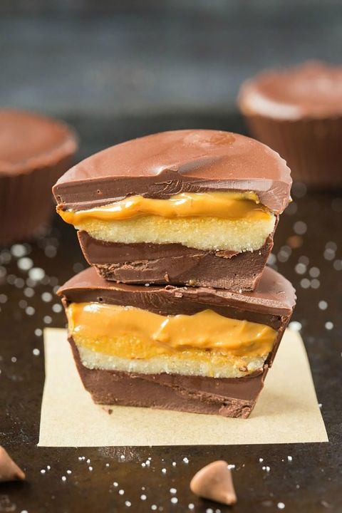 low-carb desserts Snickers Cups