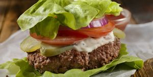 Low Carb - Lettuce Wrap Burger