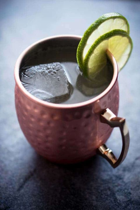 Moscow mule, Drink, Food, Peel, Lime, Plant, Cocktail garnish, Serveware,