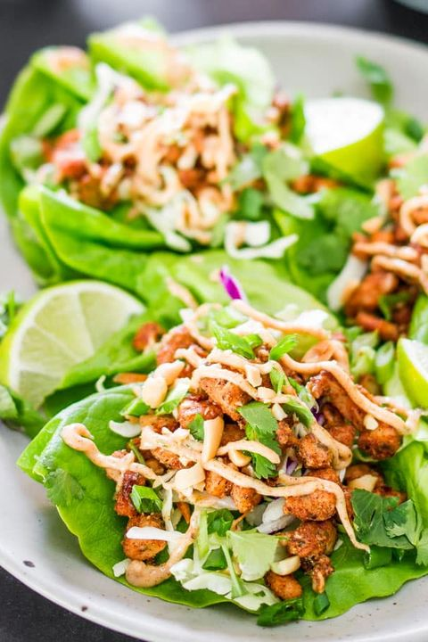 low carb recipes jamaican jerk chicken lettuce wraps