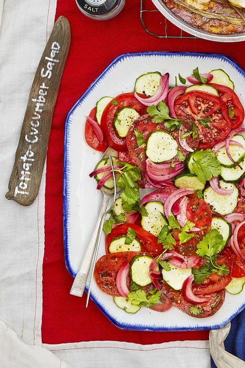 low carb recipes salad cucumber