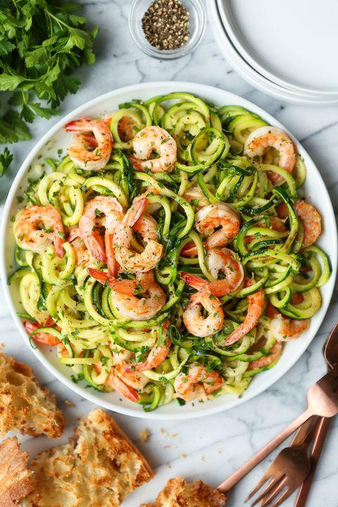 low carb recipes zucchini noodles shrimp