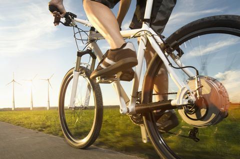 E-Biking Helps Heart