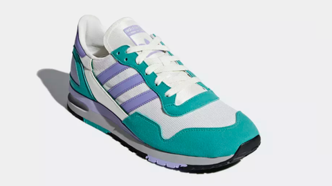 Footwear, Sneakers, Shoe, White, Product, Aqua, Blue, Outdoor shoe, Violet, Green,