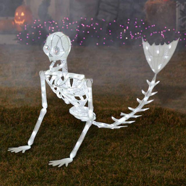 light up mermaid skeleton