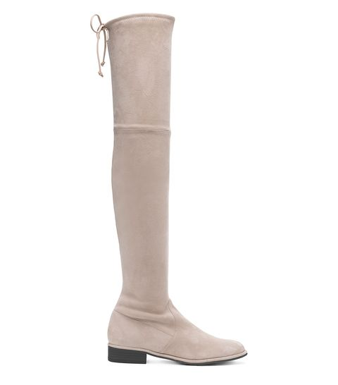 Footwear, Boot, Knee-high boot, Beige, Shoe, Riding boot, Suede, Durango boot, Leather, Knee,