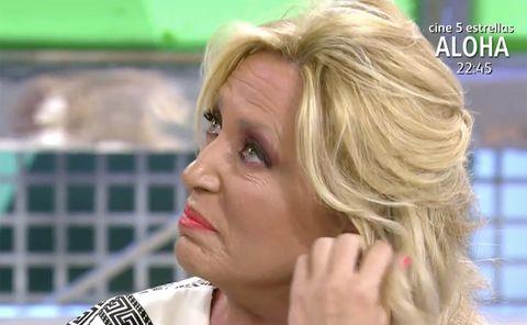 lydia lozano rompe a llorar en 'sálvame' al recordar 'la última cena' con jorge javier vázquez y belén esteban