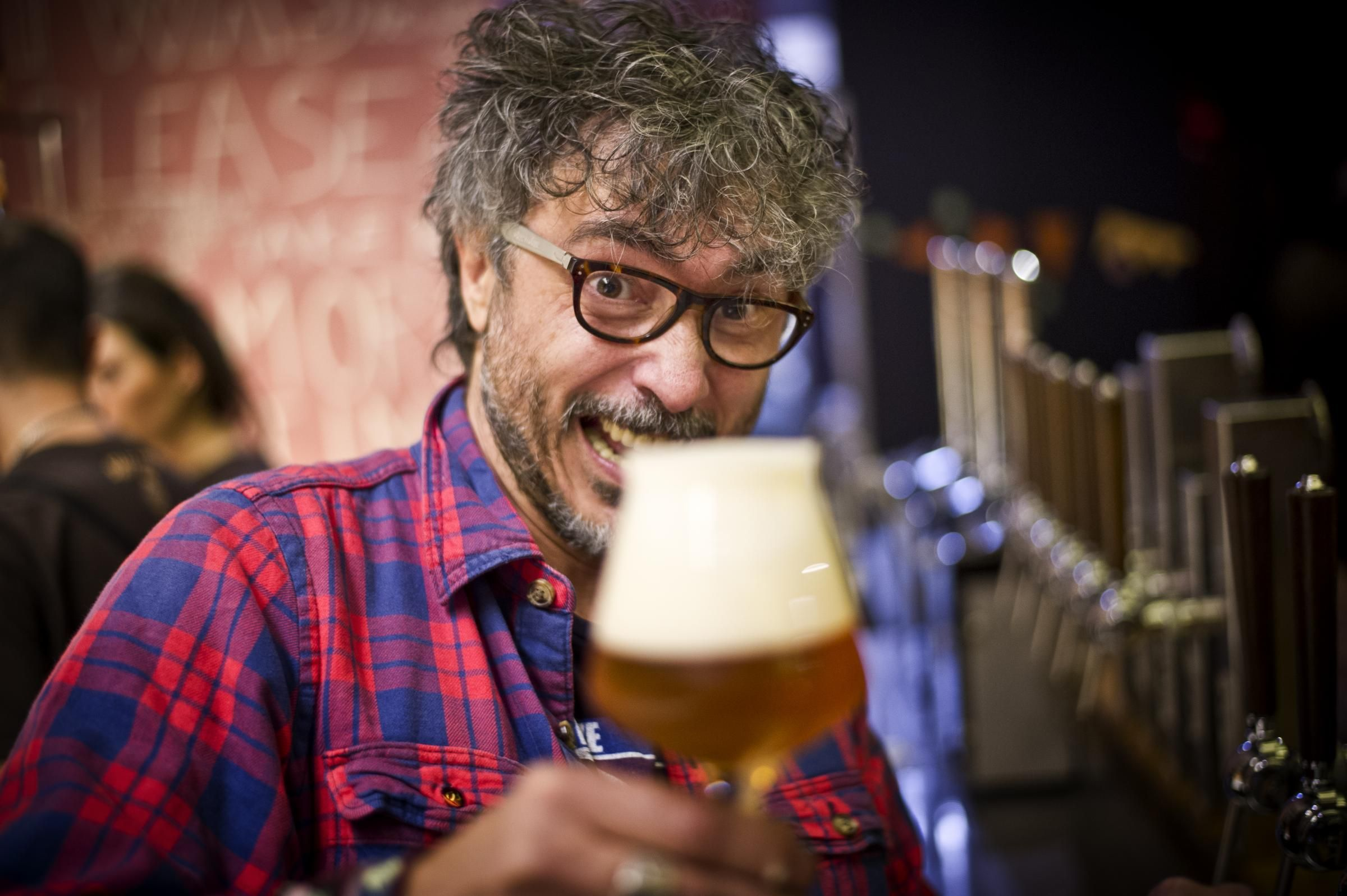 Per Teo Musso la birra è un linguaggio