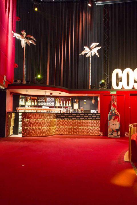 Stage, Building, Interior design, Music venue,