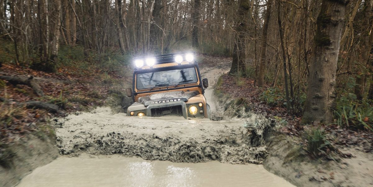 Land Rover Brings Back the Old Defender in a Nod to the Camel Trophy