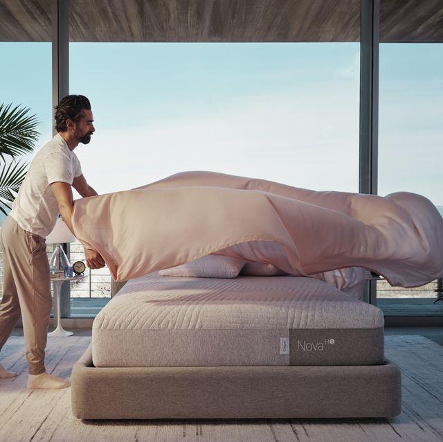 casper cooling collection nova hybrid snow mattress
