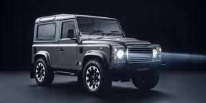 Land Rover Classic Defender Works kit