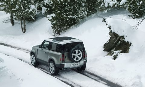 2020 Land Rover Defender Is Back, and It's Coming to America