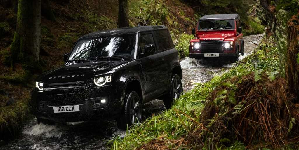 Check Out Land Rover's New V8-powered Defender