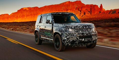 2020 Land Rover Defender: News, Design, Release, Price >> 2020 Land Rover Defender News Photos Price Release Date