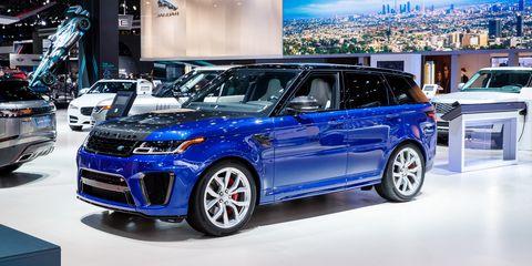 Land vehicle, Vehicle, Car, Auto show, Sport utility vehicle, Range rover, Automotive design, Rim, Luxury vehicle, Compact sport utility vehicle,