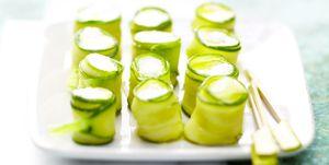 Zucchine e caprino