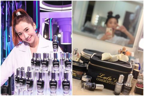 Product, Purple, Water, Skin, Beauty, Violet, Material property, Eyelash, Drink, Distilled beverage,