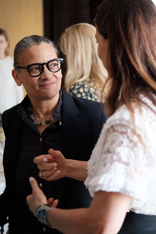 Chanel Harper's Bazaar lunch