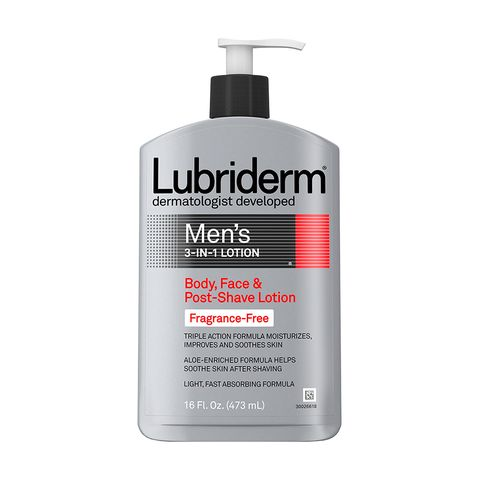 Lubriderm Men's 3-In-1 Fragrance-Free Aftershave