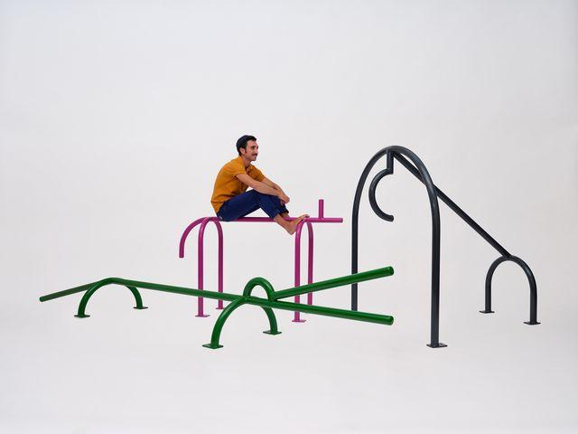 esculturas minimalistas de animales diseñadas por lucas boscardin