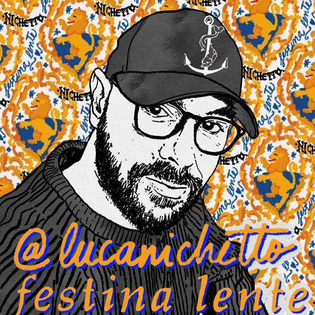 ilustración del diseñador luca nichetto por gala fernández