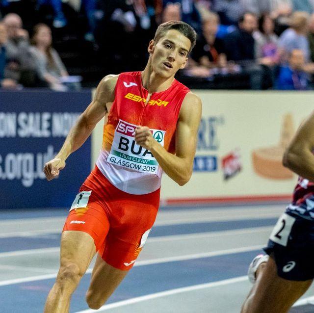 lucas búa corre los 400m del europeo indoor de glasgow 2019