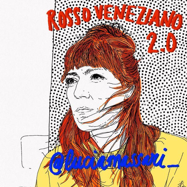 una ilustración de la diseñadora lucia massari por gala fernández