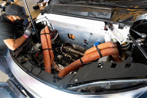 lucid air tri motor