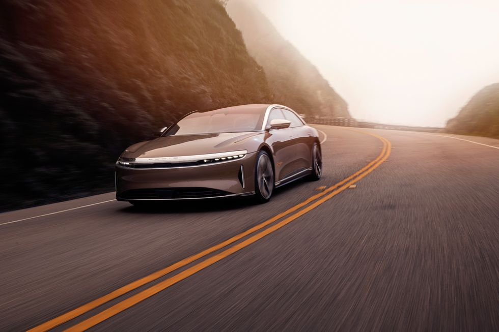 Lucid Air Electric Sedan Will Miss Spring Delivery Timetable