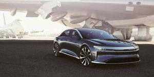 Lucid Motors Air sedan to be unveiled in New York