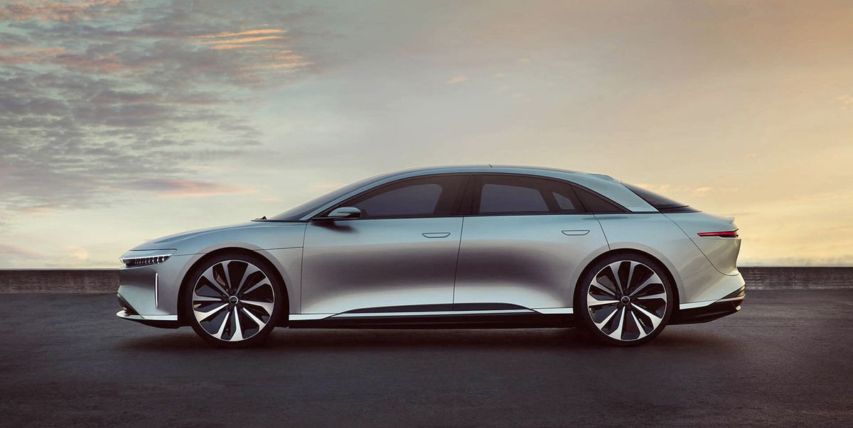 Lucid Shows 400-Mile-Range Air Electric Sedan to Future Owners