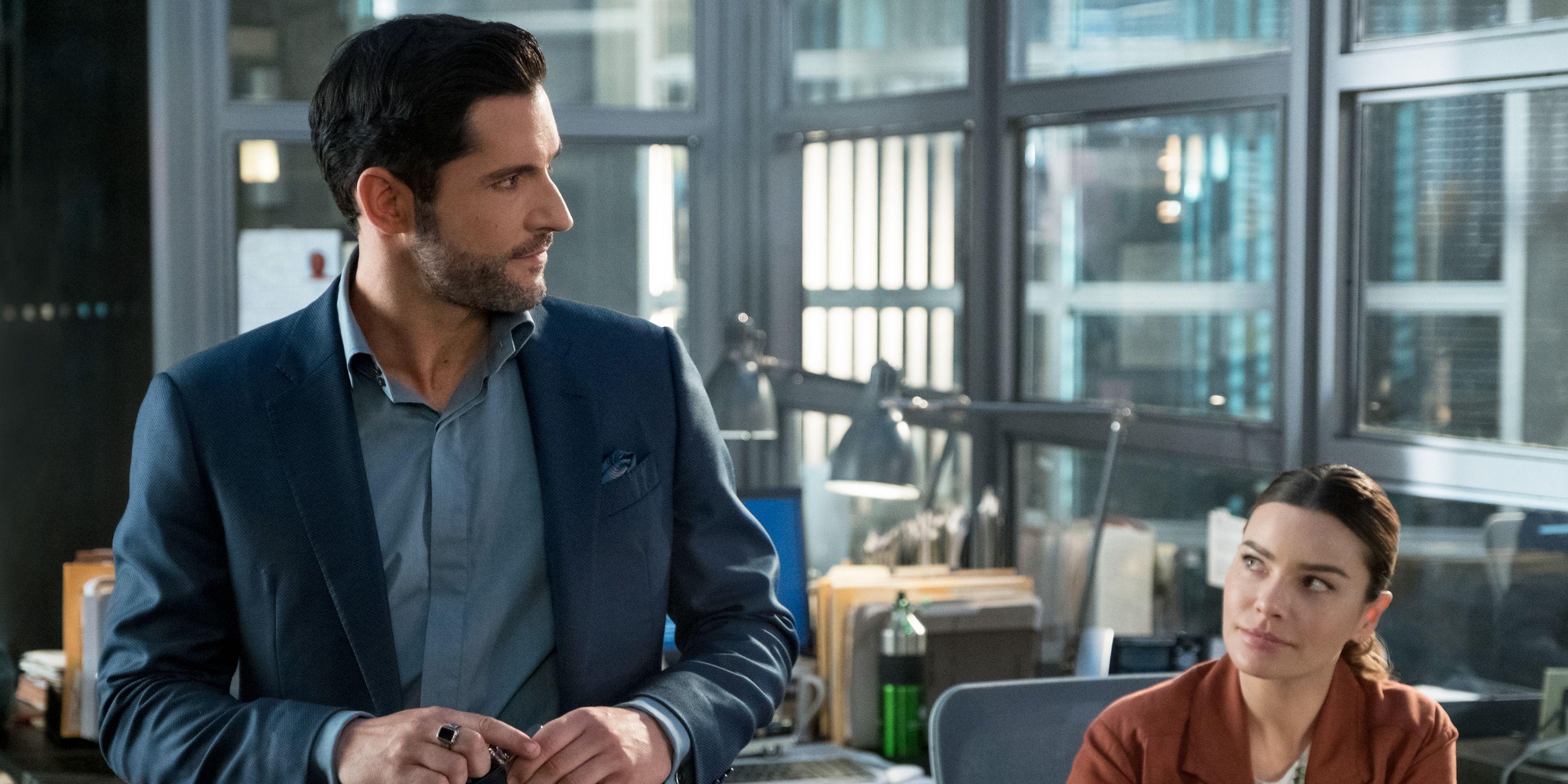 Lucifer, Season 4, Tom Ellis, Lauren German