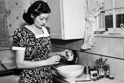 vintage photos of celebrities at home   lucille ball in her kitchen