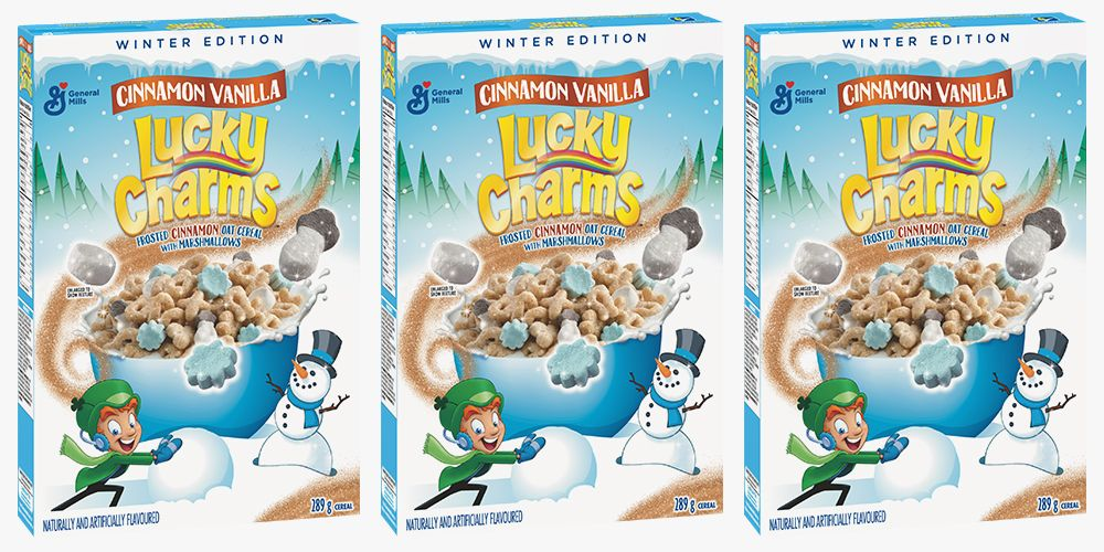 Lucky Charms Cinnamon Vanilla Cereal Will Make You Want to Go Straight Into Winter